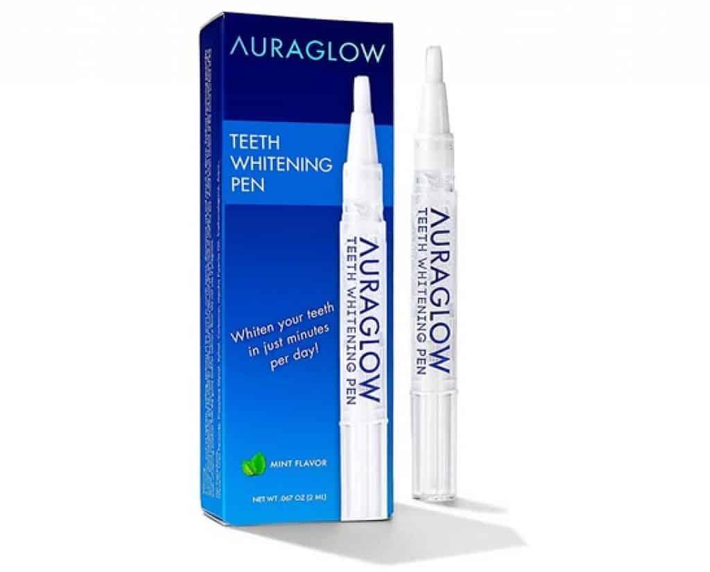 افضل معجون لتبييض الاسنان بسرعة AuraGlow