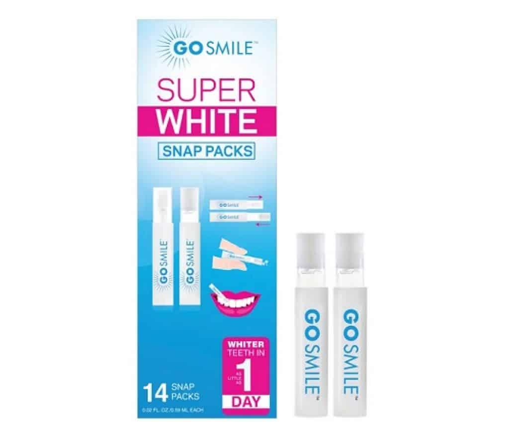 أفضل مستحضرات لتبييض الأسنان Go Smile