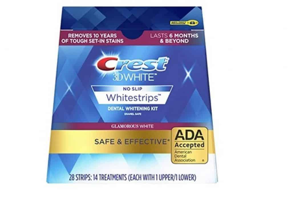شرائح تبييض الأسنان ثلاثية الأبعاد من كريست Crest 3D White Whitestrips with Light